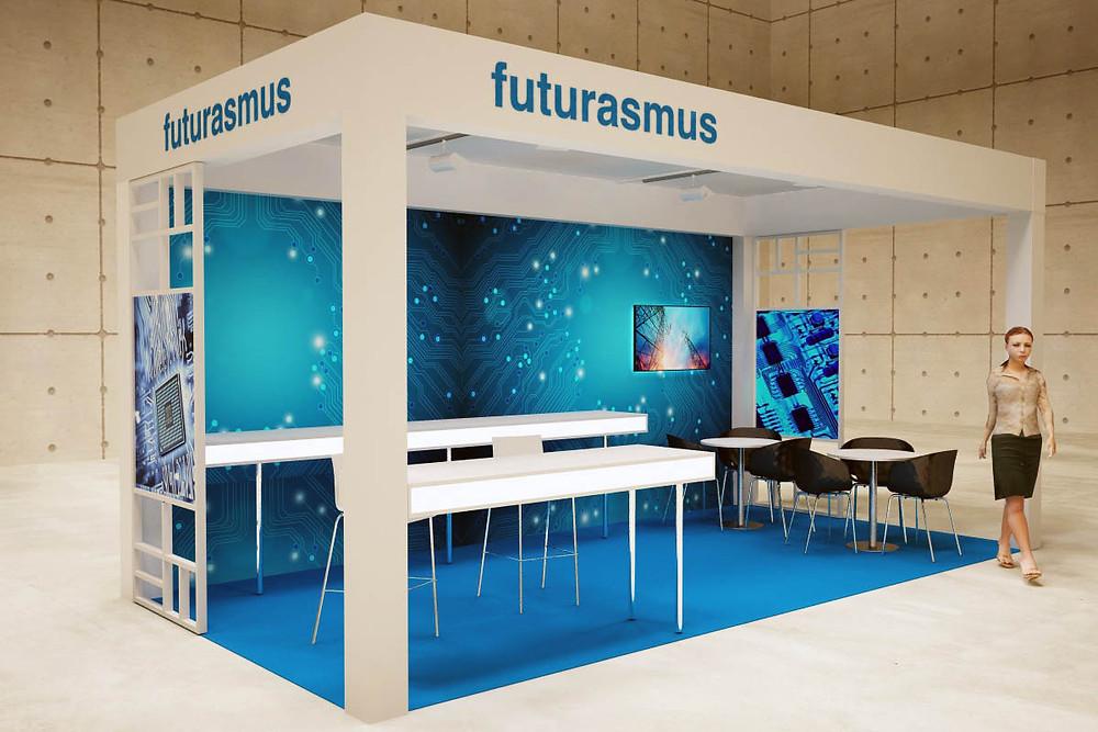 Diseño de stands y decoración de stands para Puturasmus