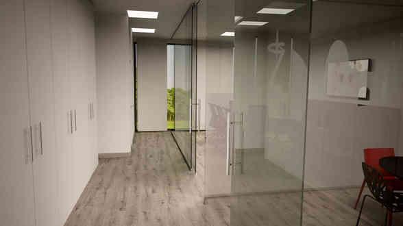 Montaje de mamparas para oficinas