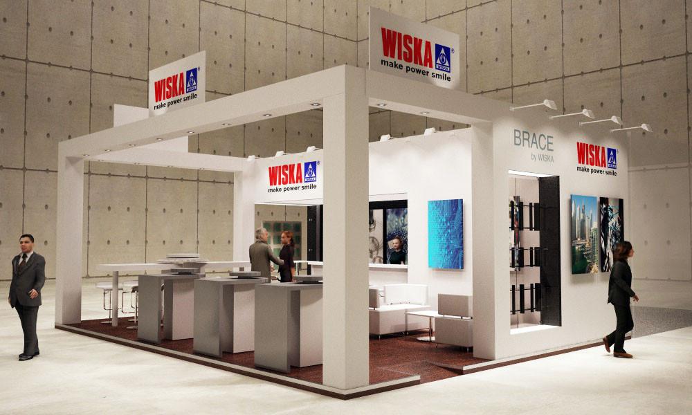 Diseño de stands y montaje para Wska en Matelec 2016