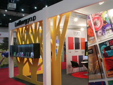 Diseño y montaje de stand modular en Promogift 2015 para Lediberg Group