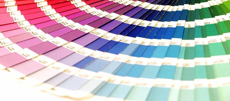Guía de colores para diseño de stands