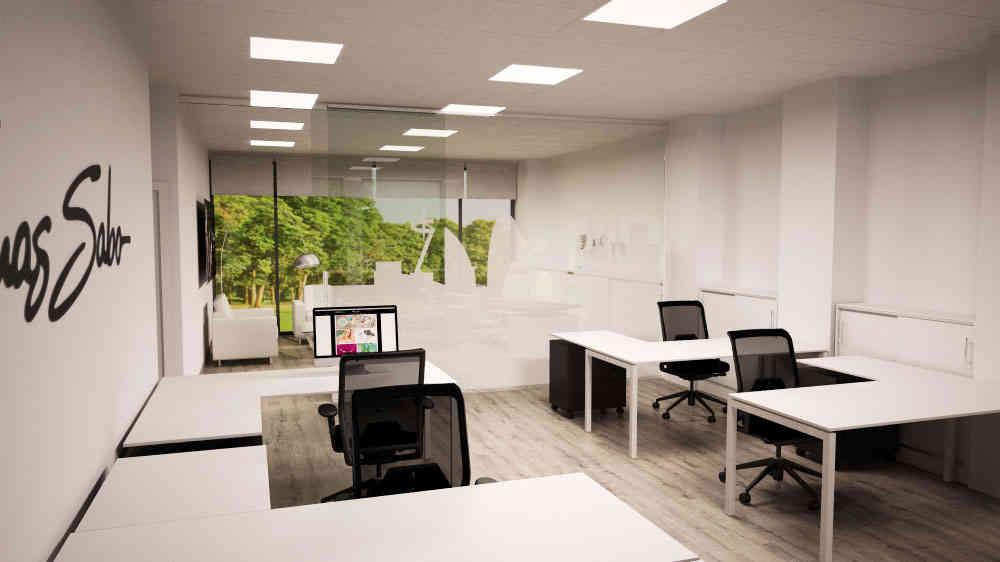 Mobiliario y decoración de oficinas