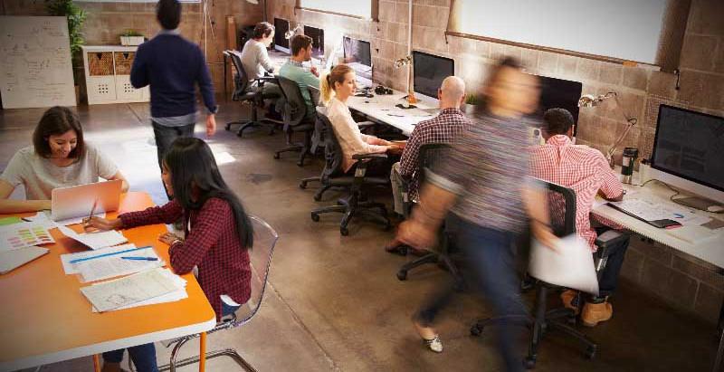 Diseño de oficinas: mejora la productividad y los objetivos de empresa