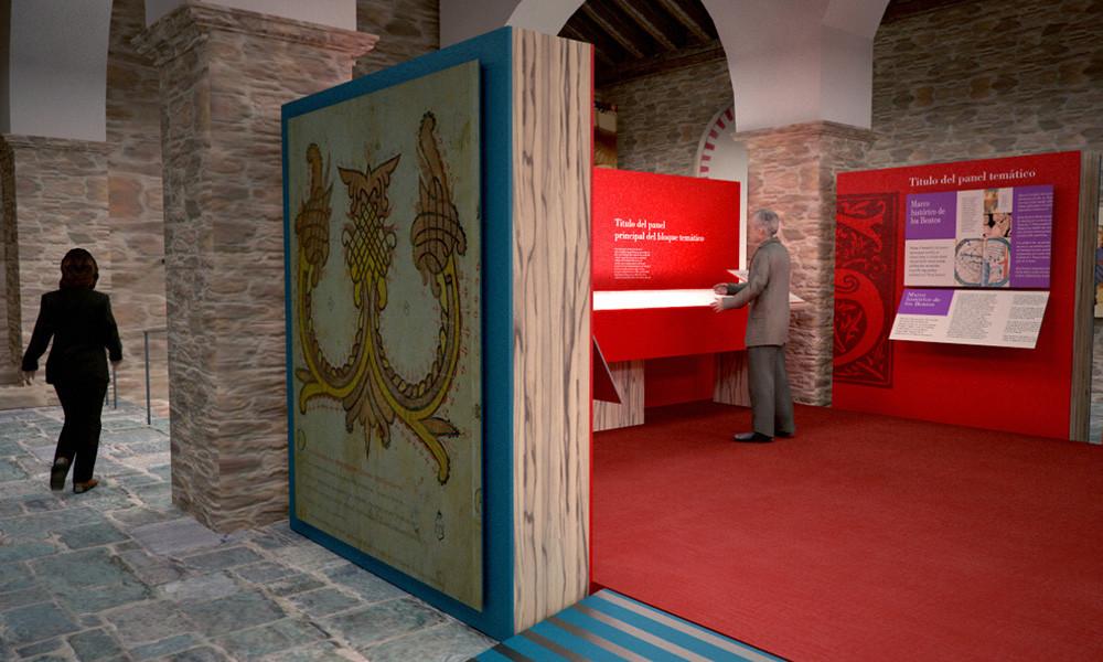 Centro de interpretación del Beato de Tábara realizado por Decoración de