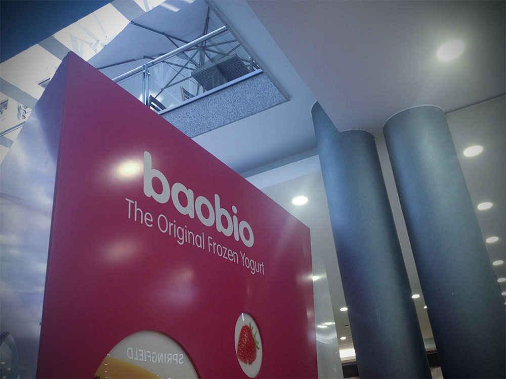 Diseño y montaje de Kiosko de helado en centro comercial