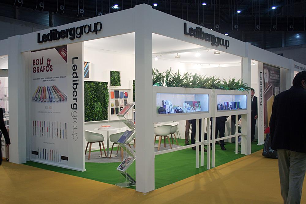 Diseño de Stands para Lediberg group