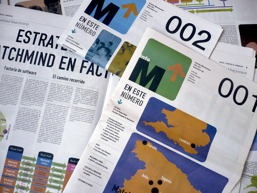diseño de boletines de empresa
