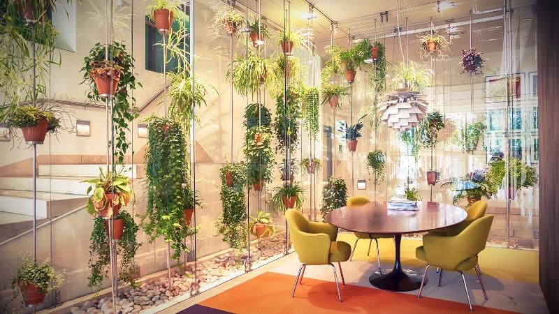 Diseño de oficinas y reformas de oficinas con  estilo natural