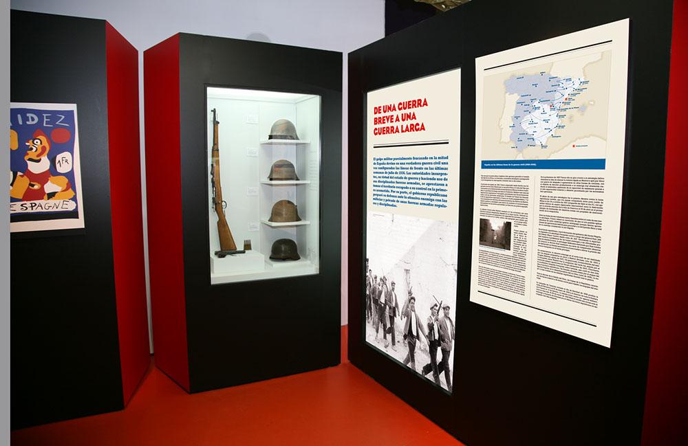 Exposiciones y creación de espacios