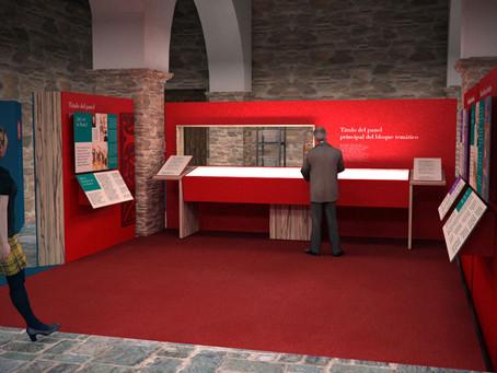 Decoración de stands empieza el desarollo del diseño y montaje del Centro de Interpretación de Beato