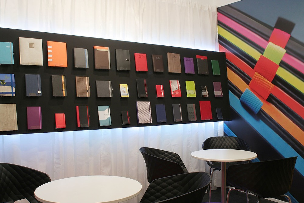 Decoración interior de stand en Promogift para Liideberg Group