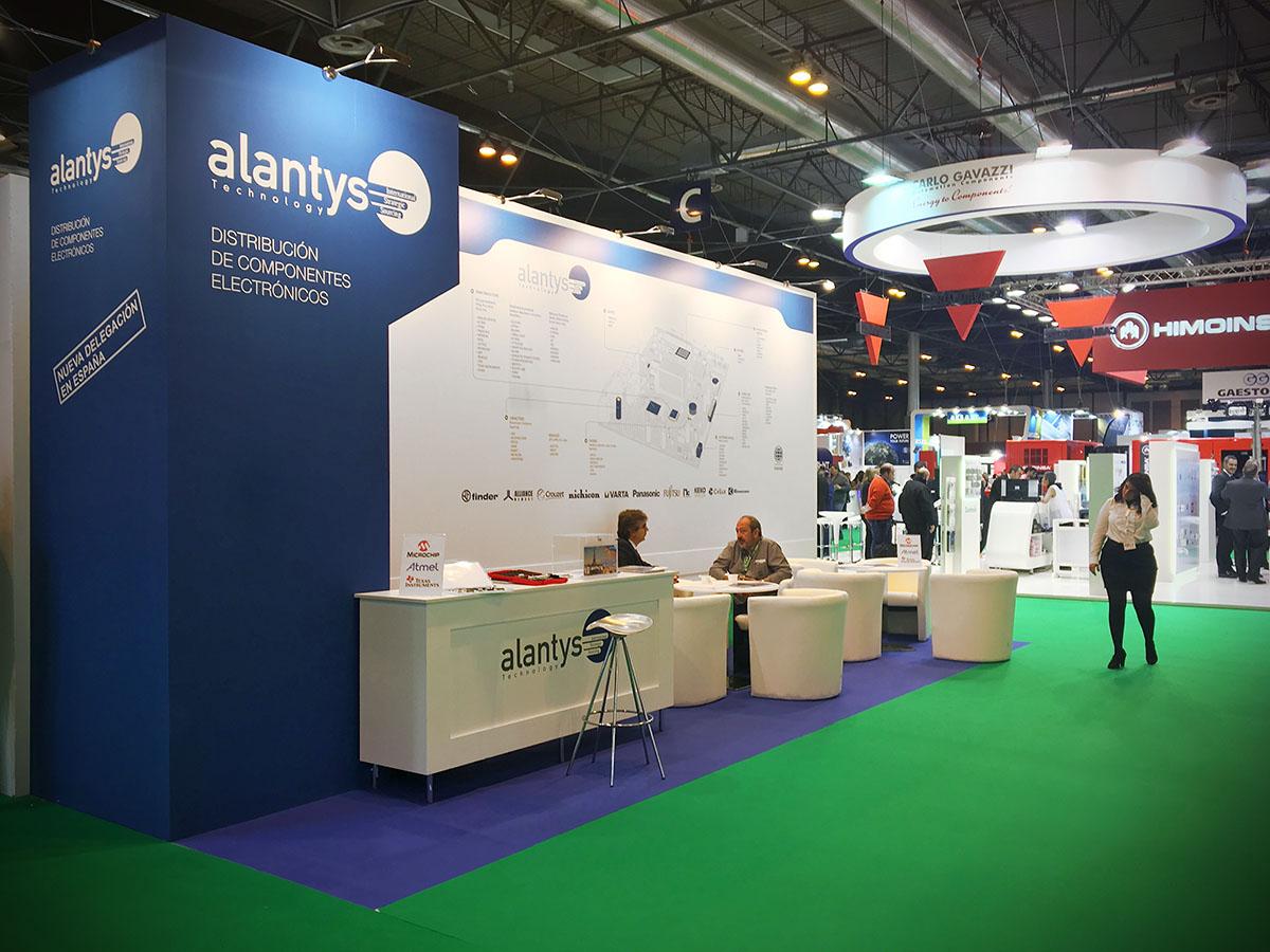 Stand Alantys en Matelec 2016