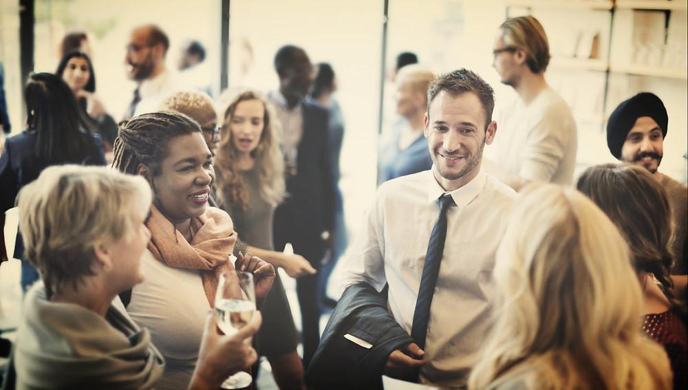 Reunión de clientes de empresa - organización de eventos
