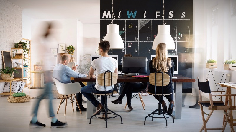 Diseñoy reforma de oficinas contemporáneas