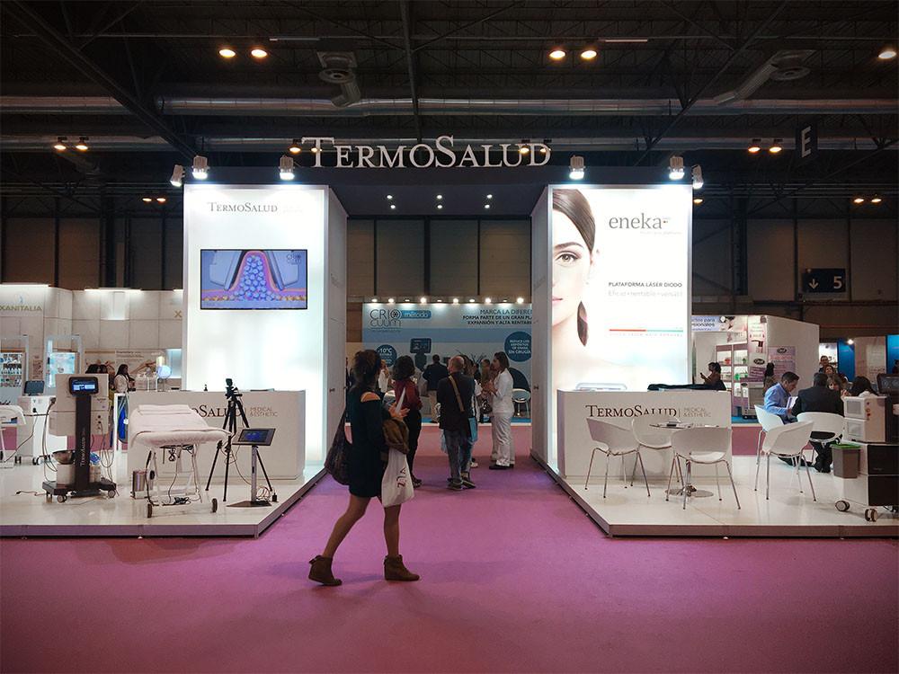 diseño de stand en Madrid Look para Termosalud