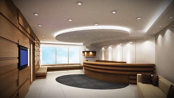 iluminacion empotrada en oficinas y locales