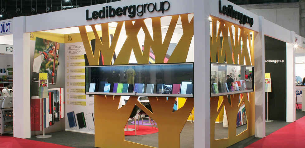 stand para Lediberg Group en Promogift 2015