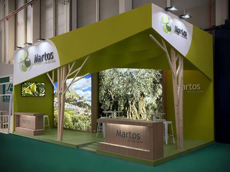 Diseño y montaje de stands para el Ayuntamiento de Martos