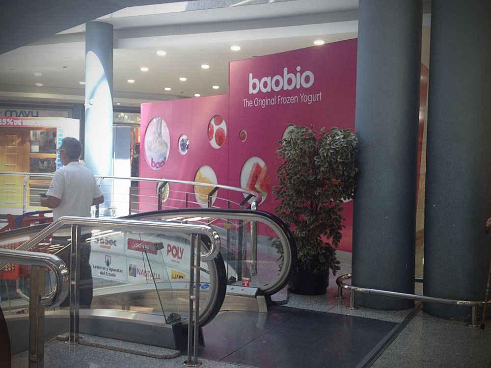 Fabricación de Kiosko de helado en centro comercial