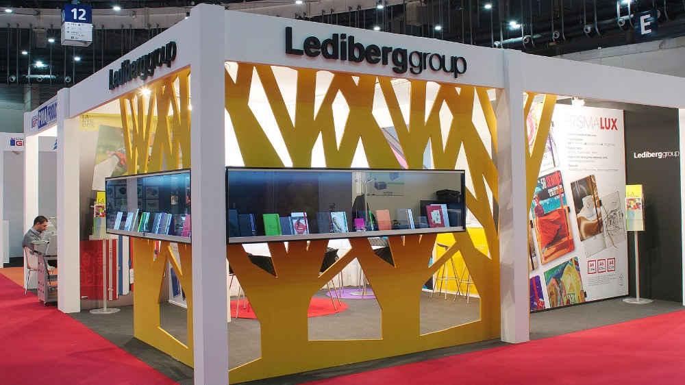 Stand lediberg group promogift 2015