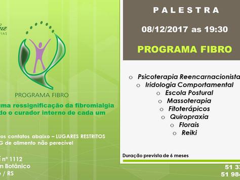 Palestra de Lançamento do Programa FIBRO