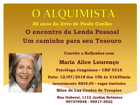 O Alquimista - 30 anos de Paulo Coelho