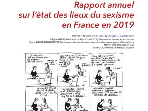 Sexisme en France : Etat des lieux