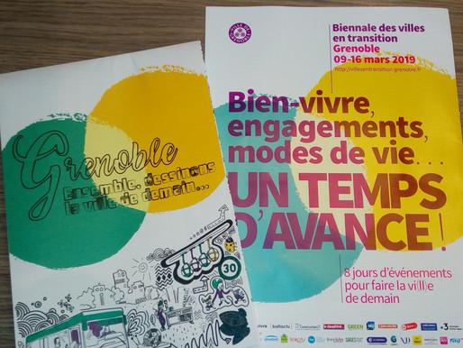 Atelier Facilitation Biennale des Villes en transition à Grenoble !