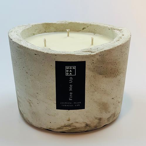 Urban candle - small ecru
