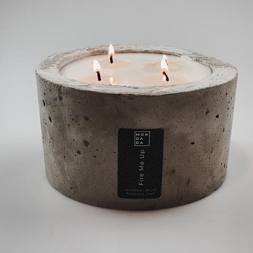 Urban candle - medium grey