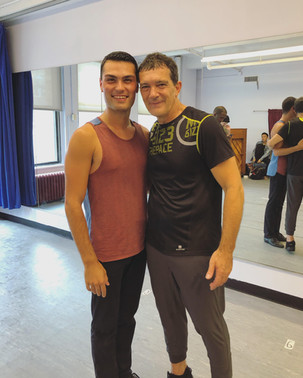 A Chorus Line with Antonio Banderas