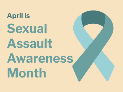 Join us for Sexual Assault Awareness Month