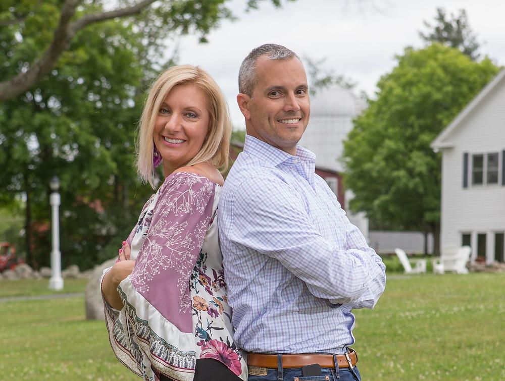 Jill & Phil Dixon, Taly Founders