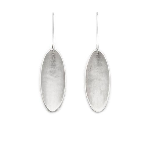 Thin Oval Earrings