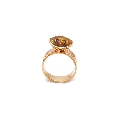 Cocoon Ring 1 Gold