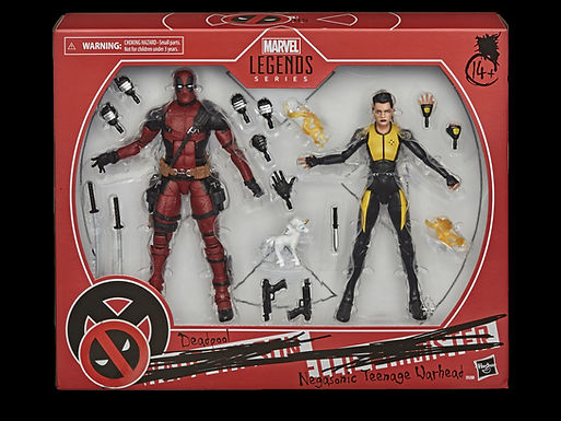 X-MEN MOVIE LEGENDS 6IN DEADPOOL & NEGASONIC 2PK AF
