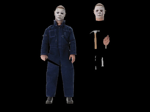HALLOWEEN 2 MICHAEL MYERS 8IN RETRO NECA