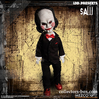 LIVING DEAD DOLLS SAW BILLY DOLL