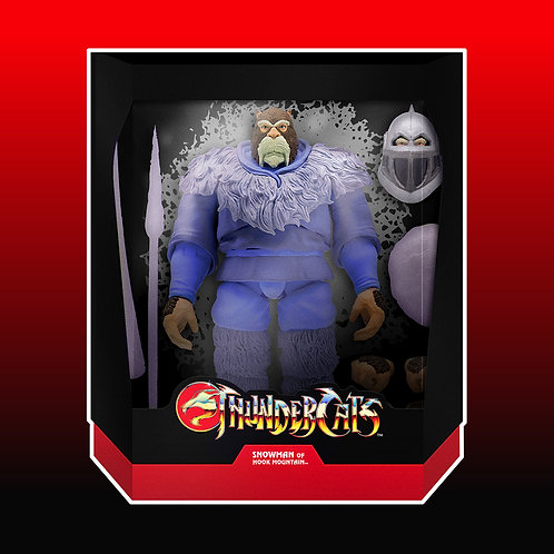 THUNDERCATS ULTIMATES WAVE 4 SNOWMAN OF HOOK MOUNTAIN Est Ship Date8/25/2021