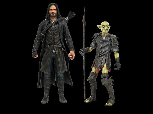 Pre-order/Sep/LORD OF THE RINGS DLX SERIES 3 FIGURE