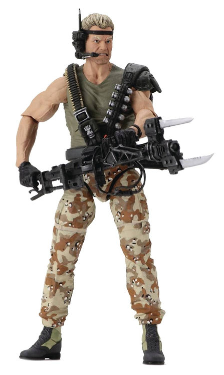 ALIENS KENNER TRIBUTE SPACE MARINE DRAKE 7IN ACTION FIGURE
