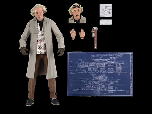 BACK TO THE FUTURE DOC BROWN ULTIMATE 7In Est Ship Date12/16/2020