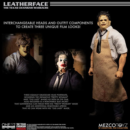 ONE-12 COLLECTIVE TEXAS CHAINSAW MASSACRE LEATHERFACE DLX AF