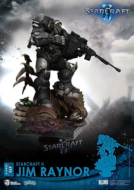STARCRAFT II DS-069 JIM RAYNOR D-STAGE 6IN STATUE