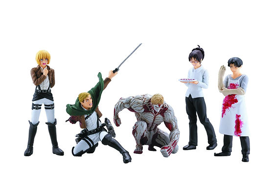 ATTACK ON TITAN CAPSULE TOYS SER 04