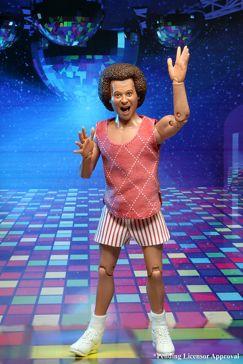RICHARD SIMMONS 8IN CLOTHED AF