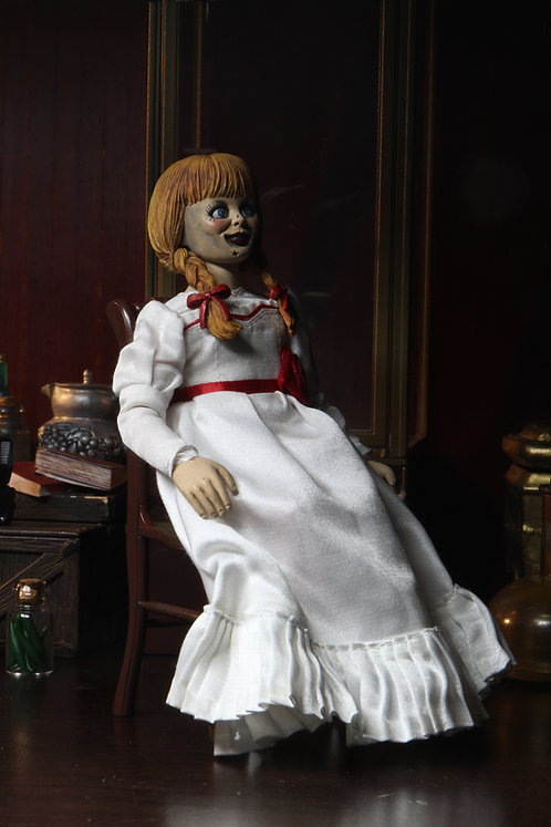 THE CONJURING UNIVERSE ANNABELLE 8IN CLOTHED