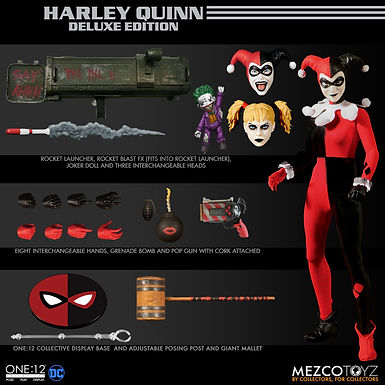 ONE-12 COLLECTIVE DC HARLEY QUINN DELUXE EDITION