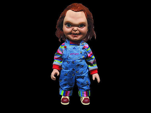 CHILDS PLAY TALKING SNEERING CHUCKY 15IN DOLL W/SOUND