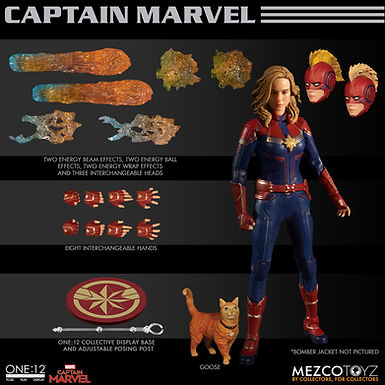 ONE-12 COLLECTIVE MARVEL CAPTAIN MARVEL